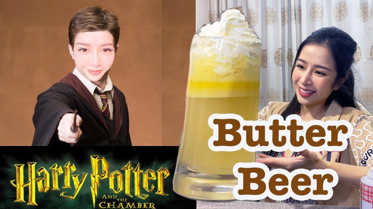 Nấu Bia Bơ Harry Potter Đơn Giản Siêu Ngậy   | Hanh Bui Channel |