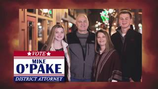 Mike O'Pake for Schuylkill County District Attorney