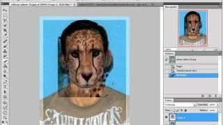 Como hacer una Cara de tigre con Photoshop CS4 CS3