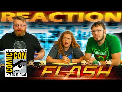 The Flash Season 4  REACTION!! SDCC 2017