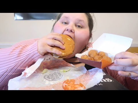 BURGER KING MUKBANG | TRISHA PAYTAS INSPIRED!!!!!