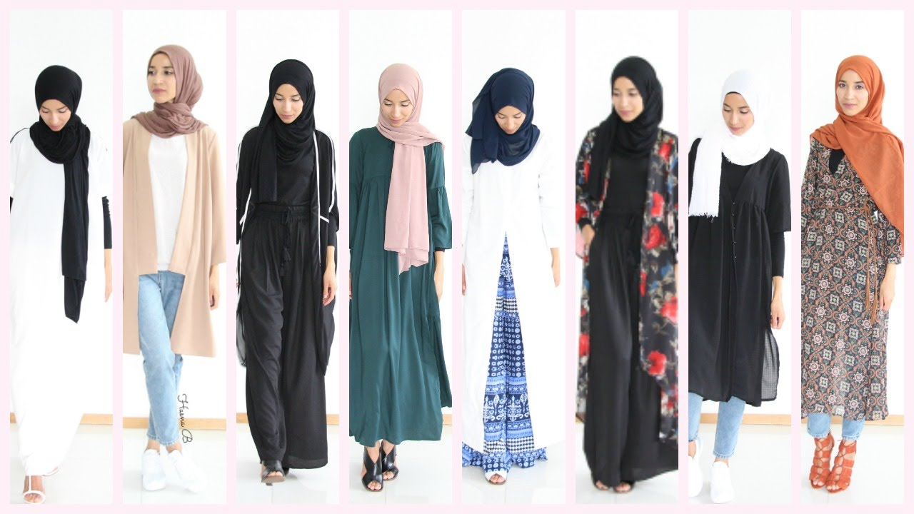 2877c2298866 Hijab Lookbook : 13 outfit ideas Shein - YouTube