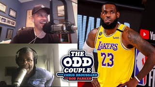 Chris Broussard & Rob Parker - Why Are the Ratings For the NBA Finals So Low?