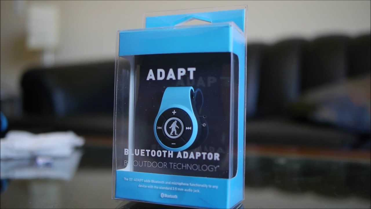 1a1492df0fb Outdoor Technology's ADAPT Bluetooth Adapter hands-on - YouTube