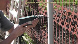 видео Опора для винограда: как сделать подпорку своими руками на даче + фото