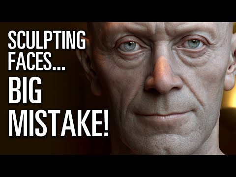 The Most Common Anatomical Mistakes While Sculpting Human Faces!