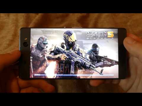 Sony XA Ultra Gaming Review Asphalt Extreme / Modern Combat 5 / NOVA 3 (Hands On #7)