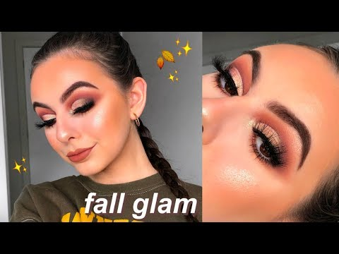 FALL INSPIRED GLAM MAKEUP TUTORIAL! | ft. ABH X Jackie Aina Palette! thumbnail