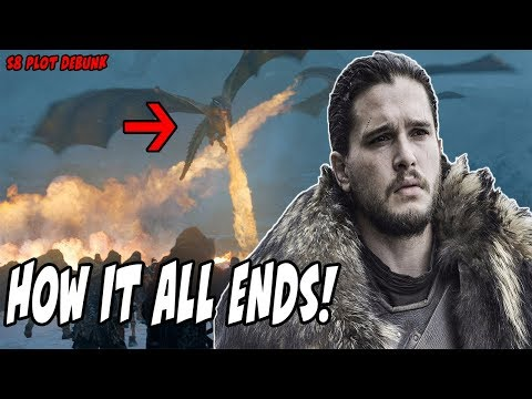How Season 8 Ends! Game Of Thrones Plot Leak (DEBUNK)