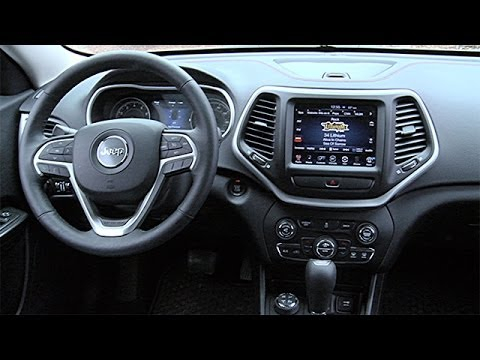 2014 Jeep Cherokee Interior Review Youtube