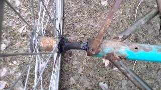 Трёх колёсный велосипед своимм руками