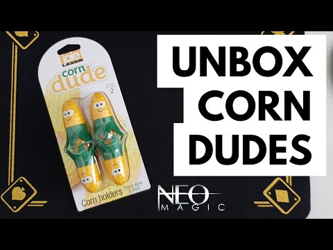 Corn Dude Unboxing - super AWESOME corn holders by Joie