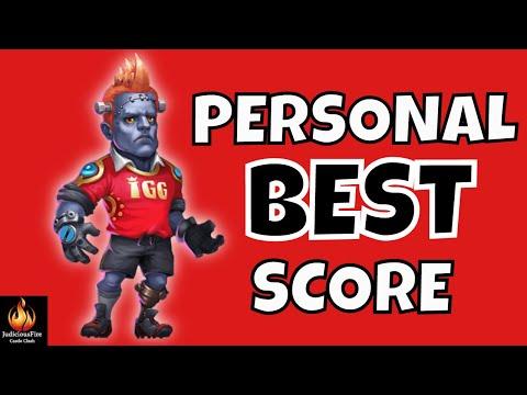 Castle Clash Guild Wars Personal Best Score