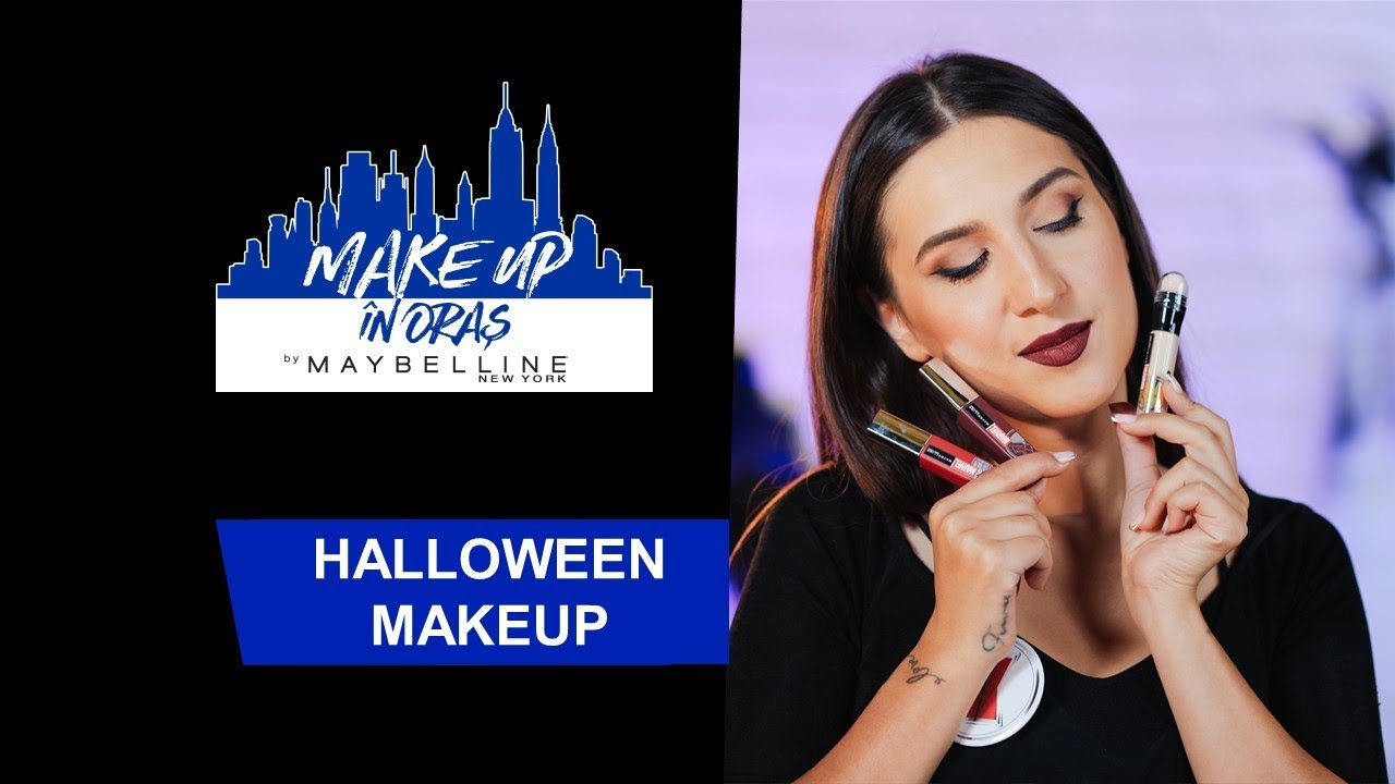 Halloween Black Widow l Make up in Oras | Maybelline NY