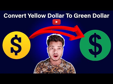 Yellow Dollar||Convert Yellow Dollar To Green||Yellow Dollar Kaise Hataye||Fix Yellow Dollar Youtube