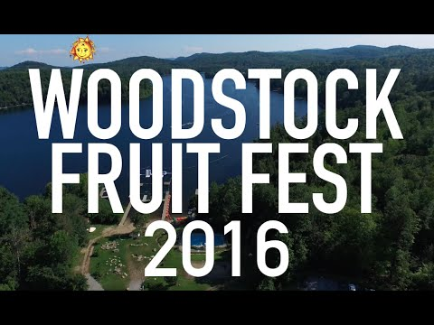 Pre-Woodstock Fruit Festival 2016. An ode to the volunteers.