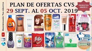 Plan de Ofertas CVS 29 Septiembre al 05 Octubre 2019