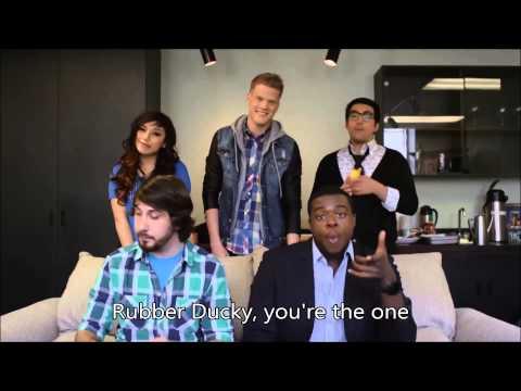 Pentatonix - C Is For Cookie/Rubber Ducky (Sesame Street) [HD LYRICS]