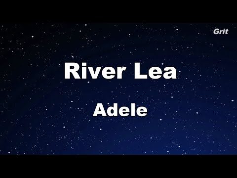 River Lea - Adele Karaoke 【No Guide Melody】 Instrumental