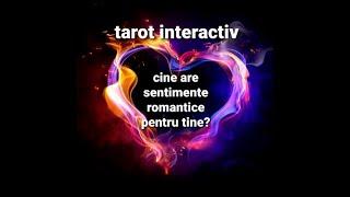 TAROT INTERACTIV - Cine are sentimente romantice pentru tine?