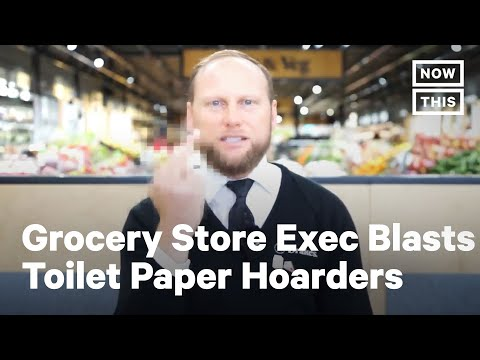 Grocery Store Exec Roasts Man Who Tried to Return Bulk Toilet Paper | NowThis