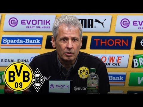 Siegreich in die Winterpause | PK mit Lucien Favre | BVB - Borussia Mönchengladbach 2:1