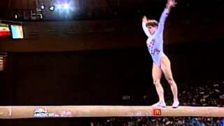 Kerri Strug - Balance Beam - 1996 McDonald's American Cup