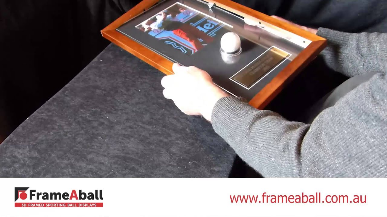 Frame a ball simple diy instructions youtube frame a ball simple diy instructions solutioingenieria Choice Image