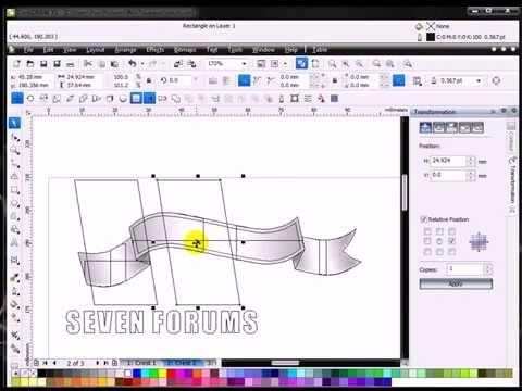corel draw x5 tutorials pdf