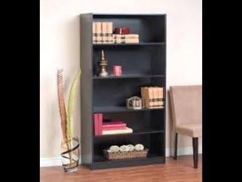 unboxing the room essentials 3 shelf bookcase funnycat tv. Black Bedroom Furniture Sets. Home Design Ideas