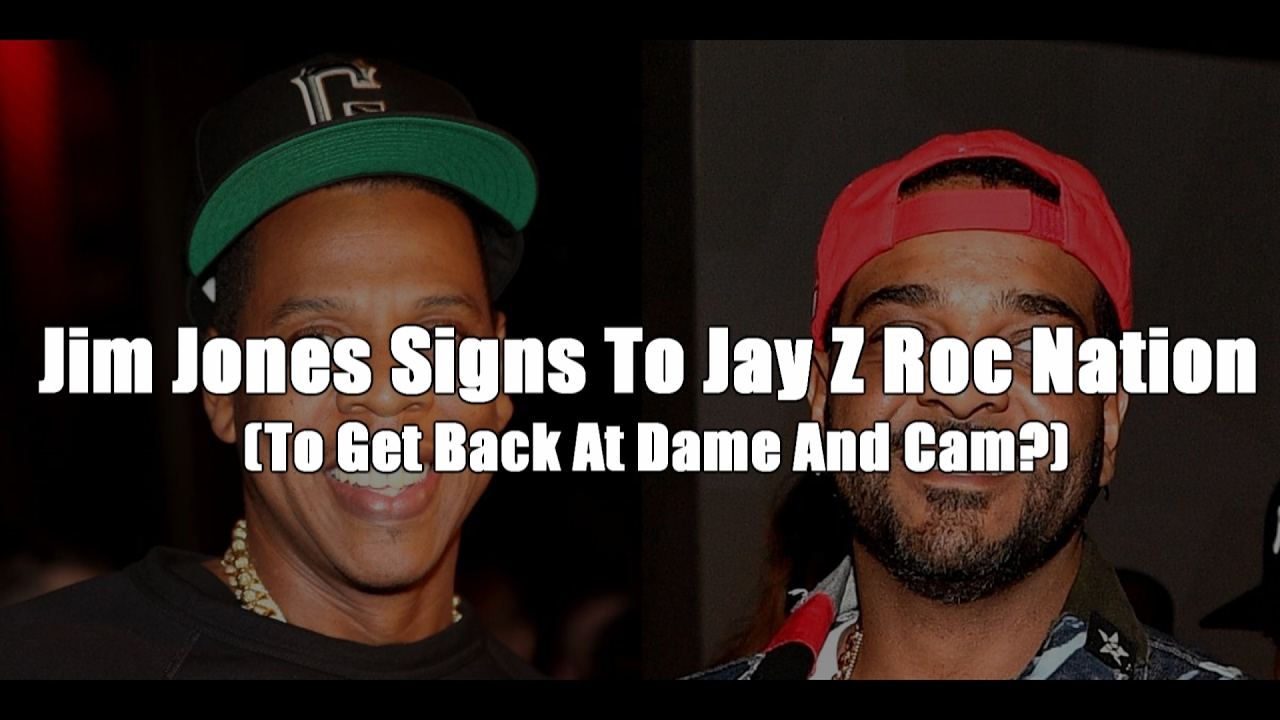 Jim Jones Signs To Jay Z Roc Nation (To Get Back At Dame And Cam?)