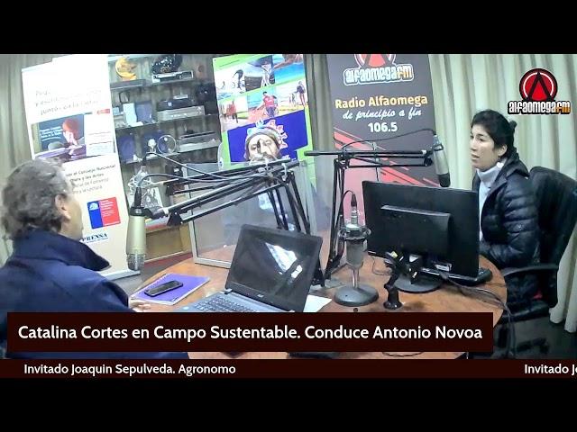 Catalina Cortes en Campo Sustentable
