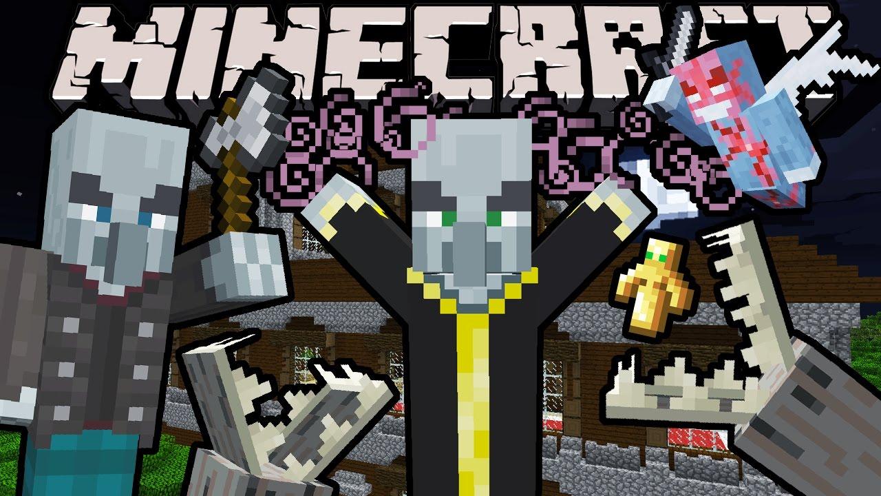 Minecraft 9.99 Snapshot: Woodland Mansion Exploration! Evoker, Vex,  Vindicator, Undying Totem 96w9a