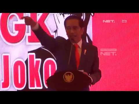 Presiden Jokowi Sindir Prabowo Soal 2030