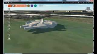 We found the Millennium Falcon at Pinewood Studios (in Autodesk Infraworks 360)