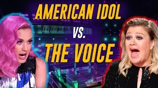 The Voice vs. American Idol: The REAL Cross Battle! Who Wins?