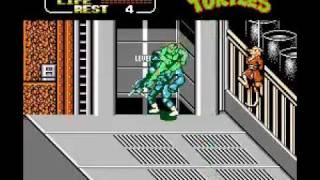 TMNT 2 : The Arcade Game on NES Bosses (1/2)