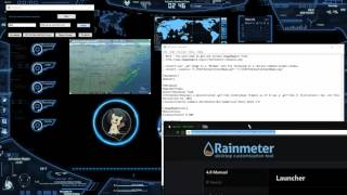 👽How to open apps and websites with RainMeter👹