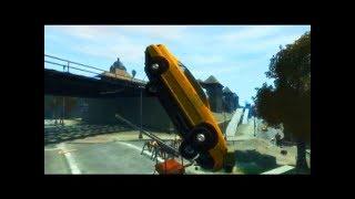 GTA 4 - Трюки, Аварии и Приколы! [#2]