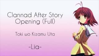 Clannad After Story Opening (lyrics)