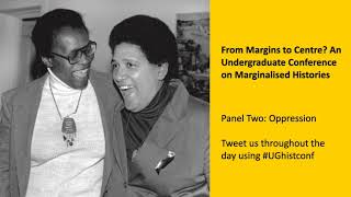 Oppression: From Margins to Centre undergraduate conference