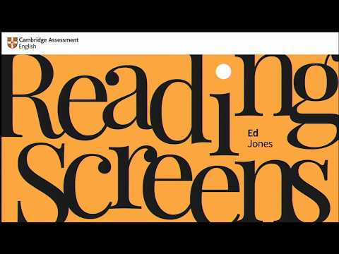 Ed Jones   Reading screens: The principles of legibility for a digital world