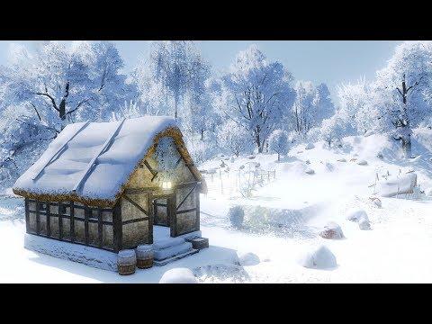 Life is Feudal Forest Village   EP.1   สร้างหมู่บ้านท่ามกลางหิมะ