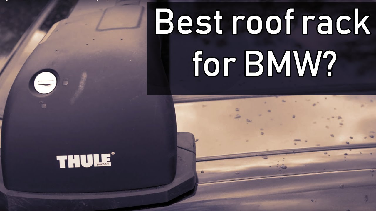 Installing Thule roof rack on BMW 335i (f30) - YouTube
