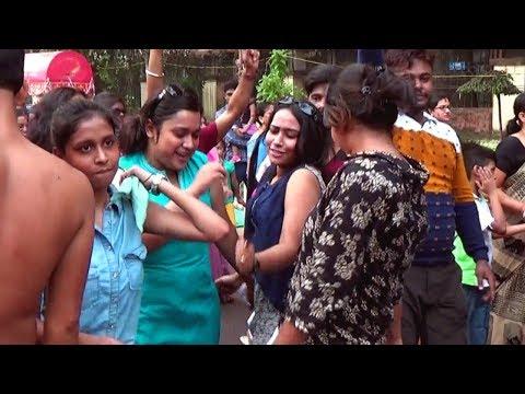 Dance Masti in Jagadhatri puja vasan 2017