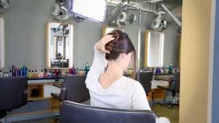 كيفية إنشاء شيك العقدة استخدام Bb.الشعر ومساحيق | تلعثم و تلعثم.