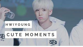 hwiyoung cute moments sf9