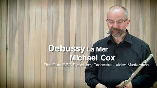 Дебюсси,  La Mer, видео урок флейта