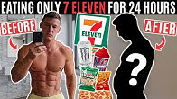 I only ate 7 ELEVEN food for 24 hours *terrible idea*