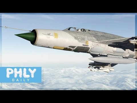 Human Controlled Missile | MIG-21FISHBED (DCS: World Gameplay)
